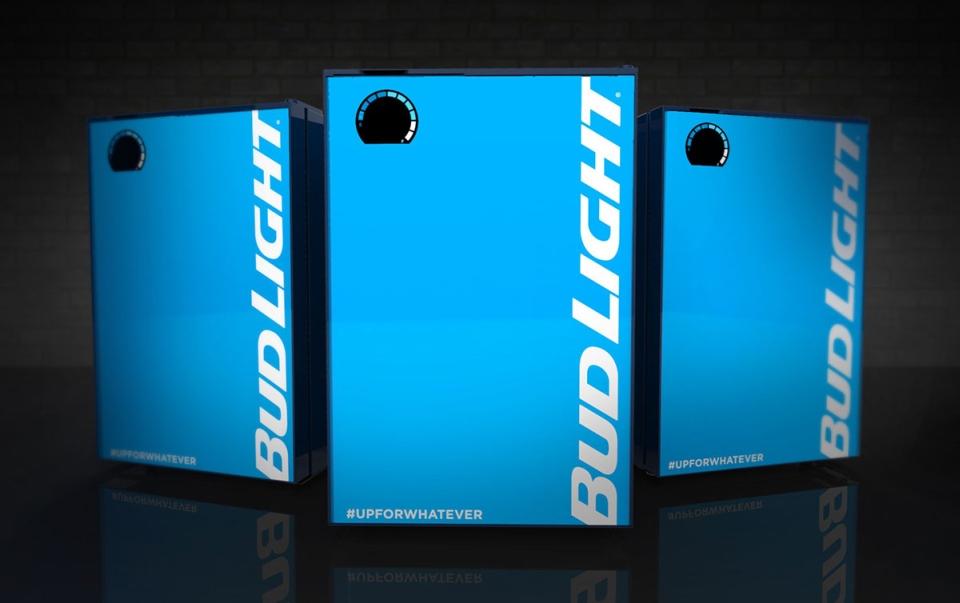 Smart Bud-E Fridge by Bud Light