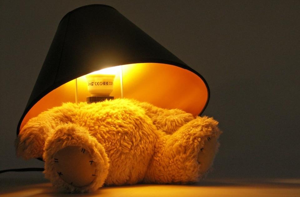 Teddy Bear Lamp by Suck UK