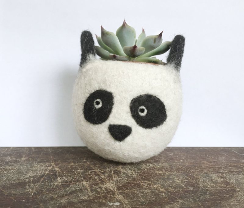 The Yarn Kitchen Succulent Planters are Really Adorable
