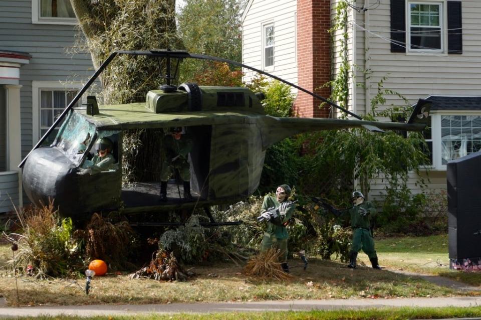 West Hartford's Halloween display