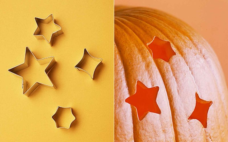 pumpkin carving tools cookie cutter
