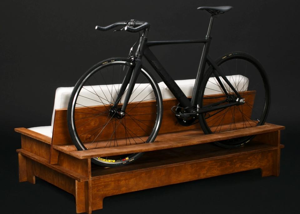 Bike Storage Furniture by Manuel Rossel