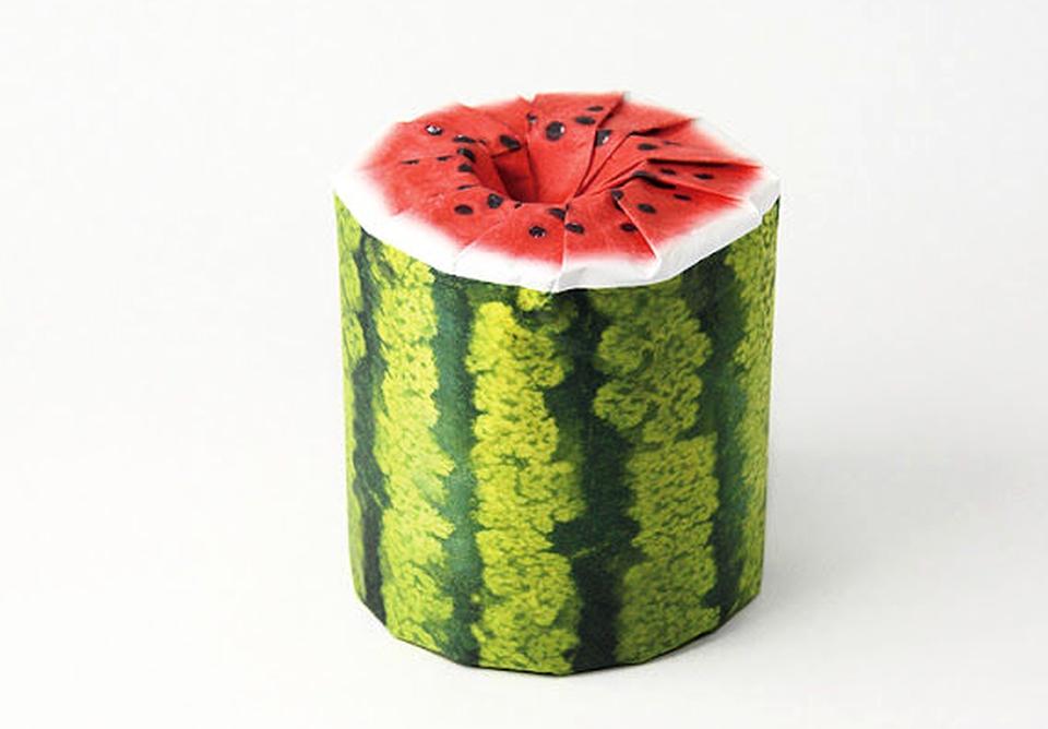 Fruit Toilet Paper rolls
