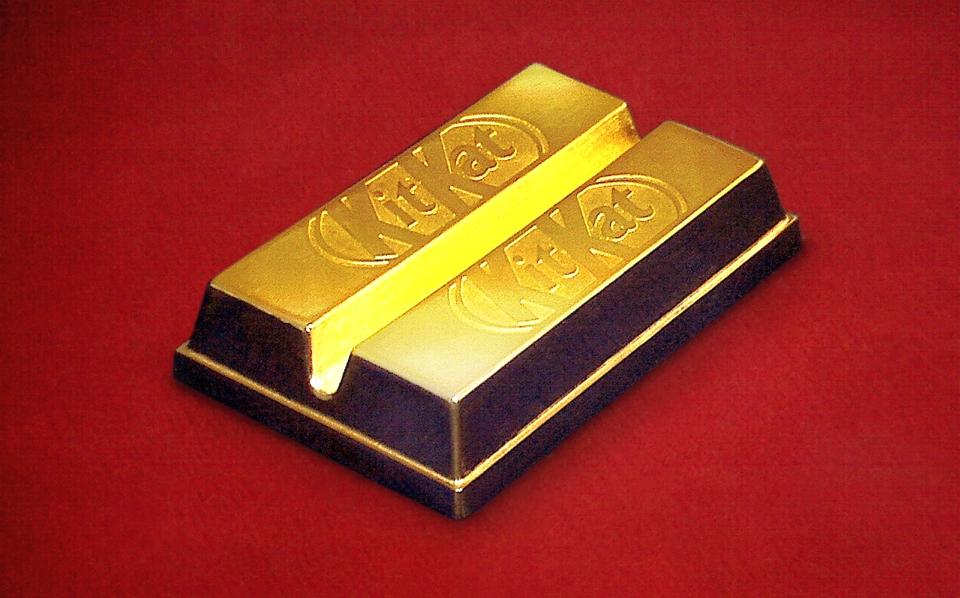 Nestle Japan Sublime Gold Kit Kat