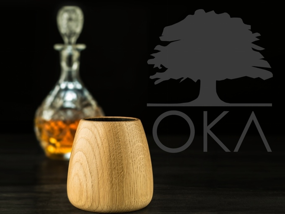 OKA Whiskey tumbler