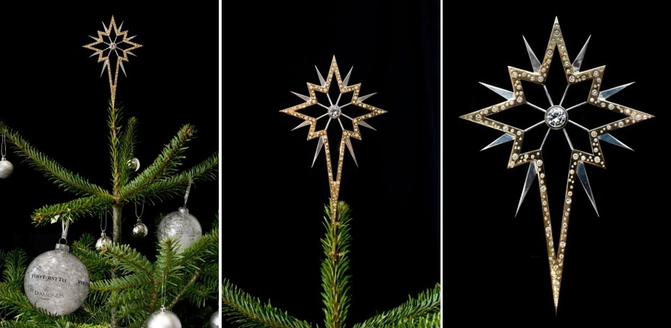 The World's Most Glamorous Christmas Tree Star