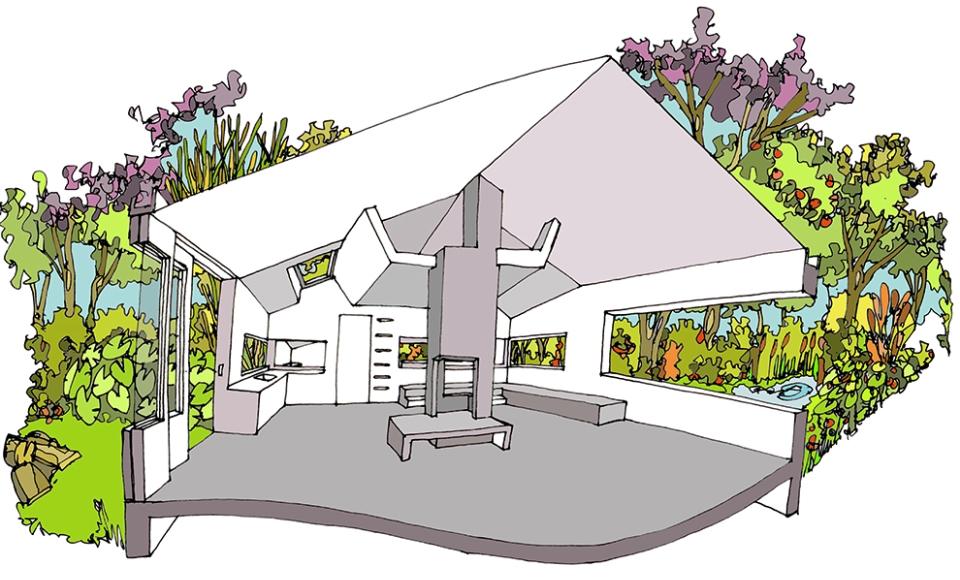 Thoreau's Cabin by CC-Studio