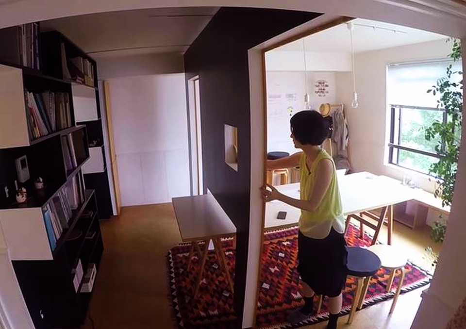 Tokyo 'Switch' apartment by Yuko Shibata