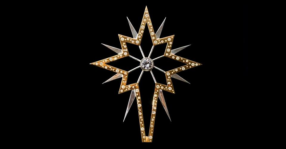 worlds most expensive christma star by 77Diamonds