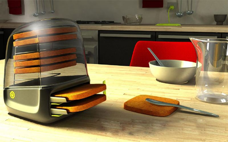 10 transparent toasters to ensure you never burn your toast again