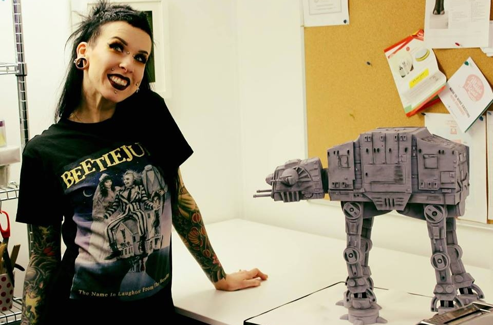 AT-AT Cake by Sarah Besson
