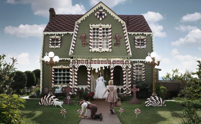 Christine McConnell's fairy tale-inspired Christmas house