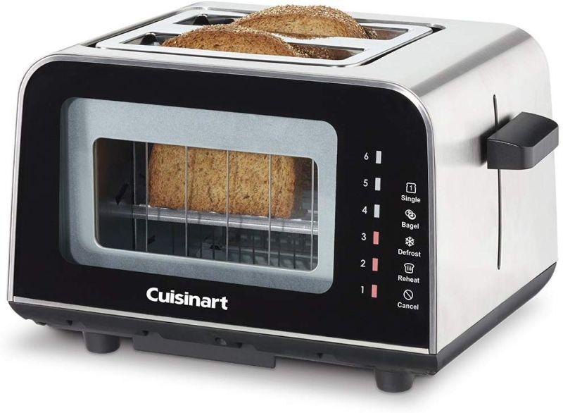 Cuisinart ViewPro glass toaster