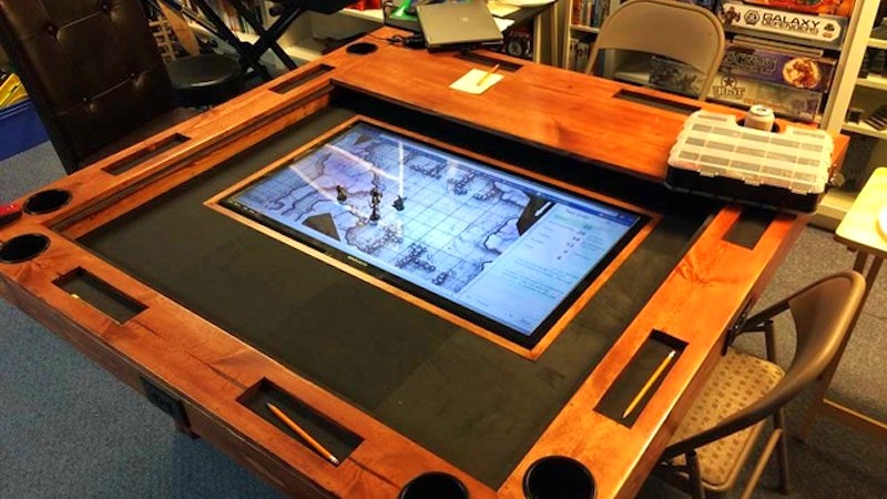 DIY High-end Gaming Table