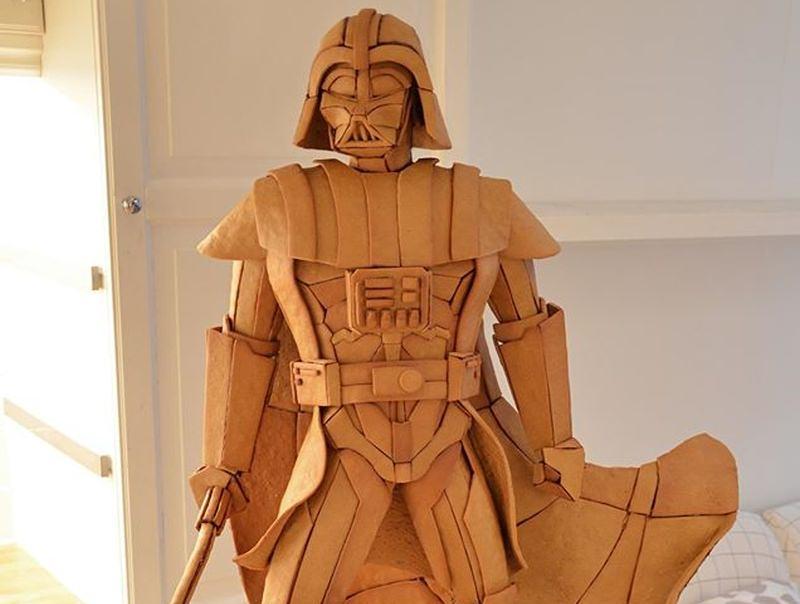 Darth Vader Gingerbread