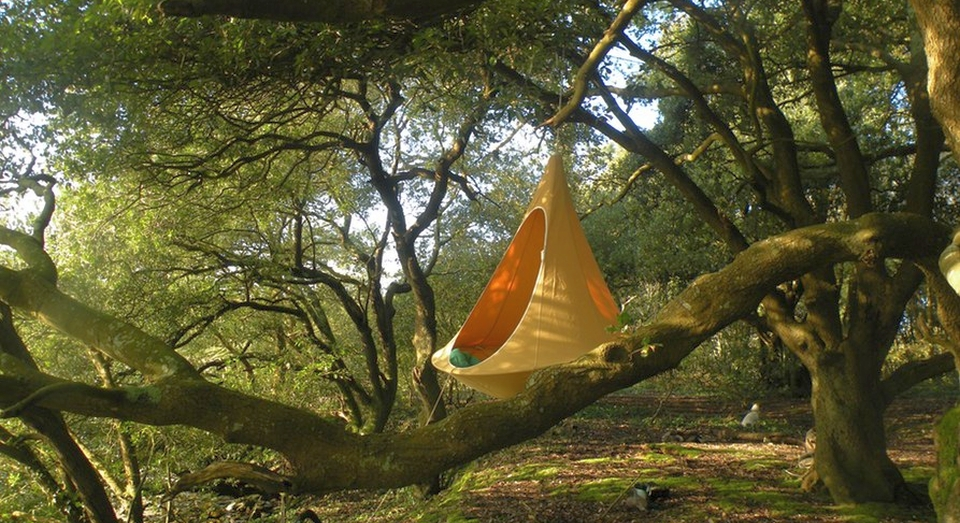 Double Hanging Chair by Cacoon