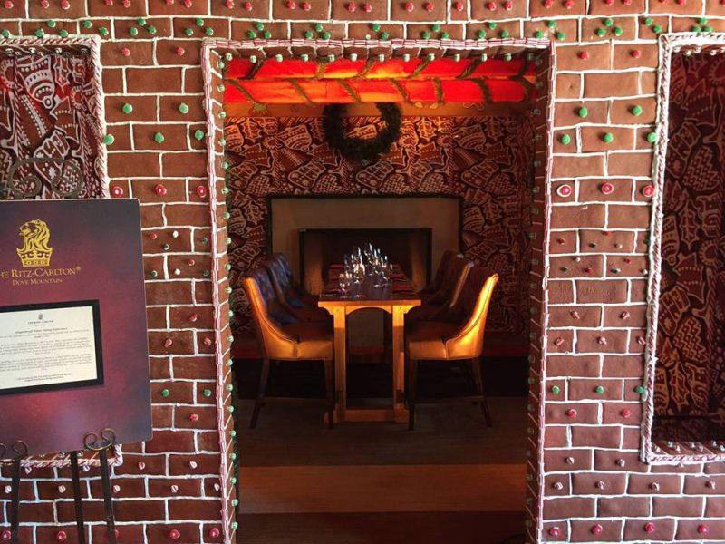 Gingerbread house by Ritz-Carlton Dove Mountain