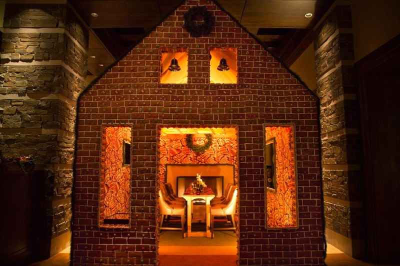 Gingerbread house by Ritz-Carlton Dove Mountain