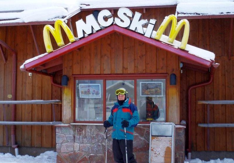 McDonald's Ski-thru Restaurant
