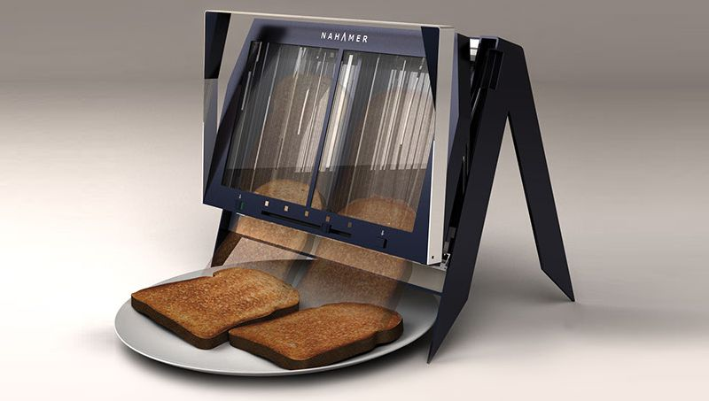 Glass toasters