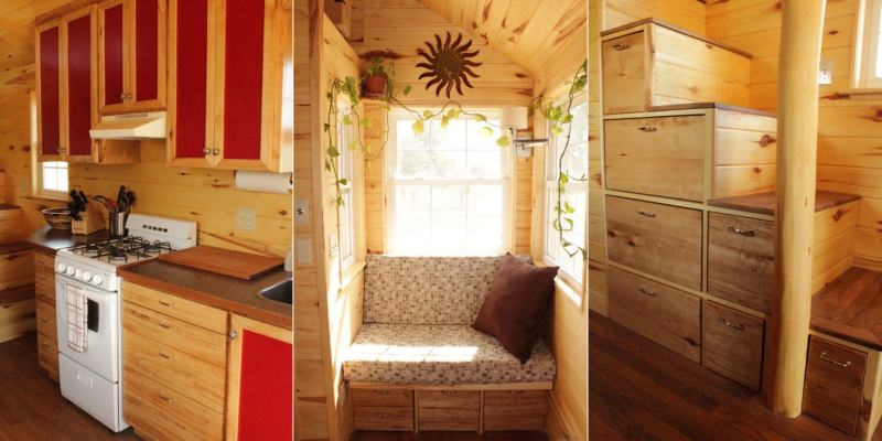 New York couple's self-contained 181-sqft home on wheels