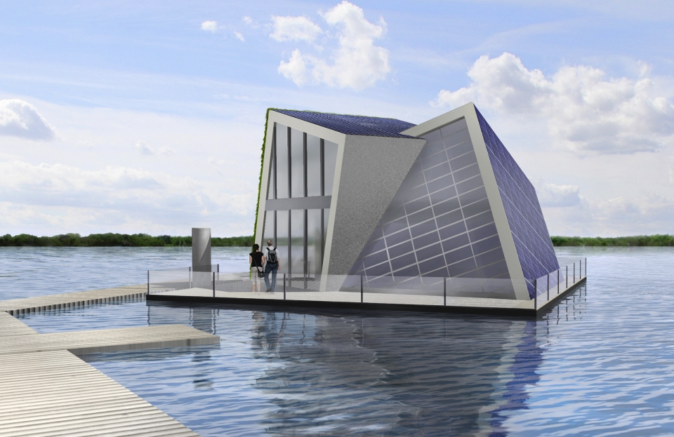 Self-Catering Houseboat by Fraunhofer IVI can fend for itself