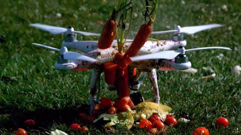 Speed Motion Films Drone Food Blender