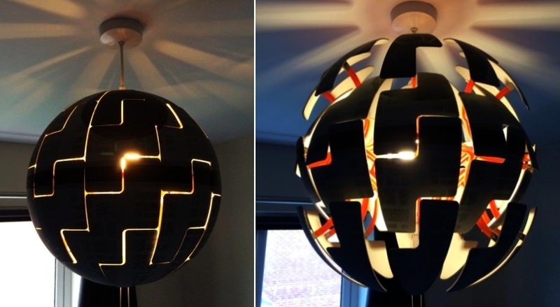 Turn Ikea lamp into striking DIY Death Star replica