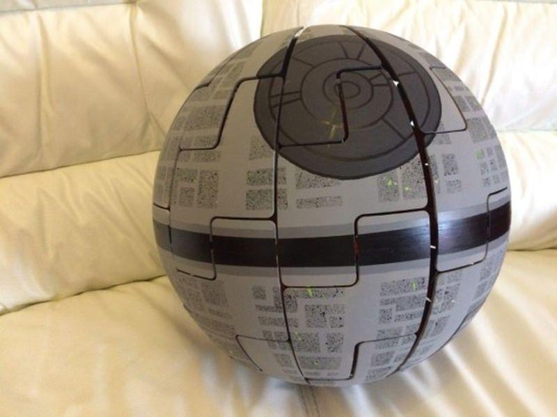Turn Ikea lamp into striking DIY Death Star replica