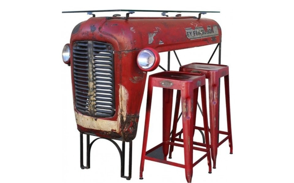 Upcycled Massey Ferguson Tractor Furniture