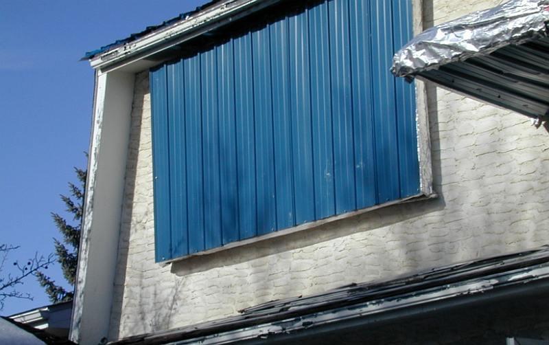 Yore Daniels' insulated shutters