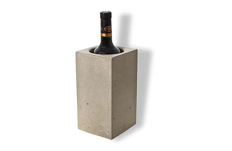 concrete wine cooler for table top