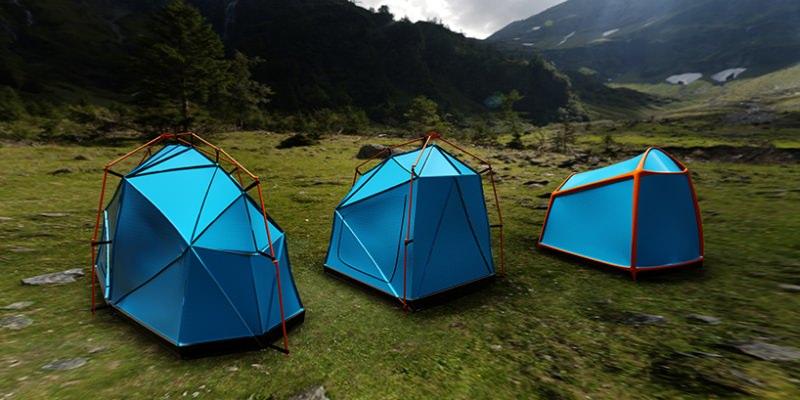 Bolt Tent by Kama Jania