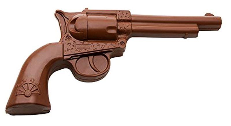 Chocolate Revolver by ChocolateWeapon