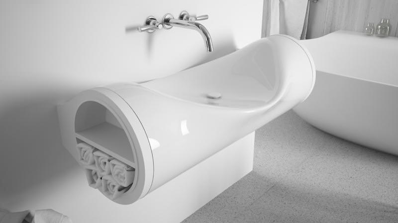 Hollow Sink by Hunap Studio
