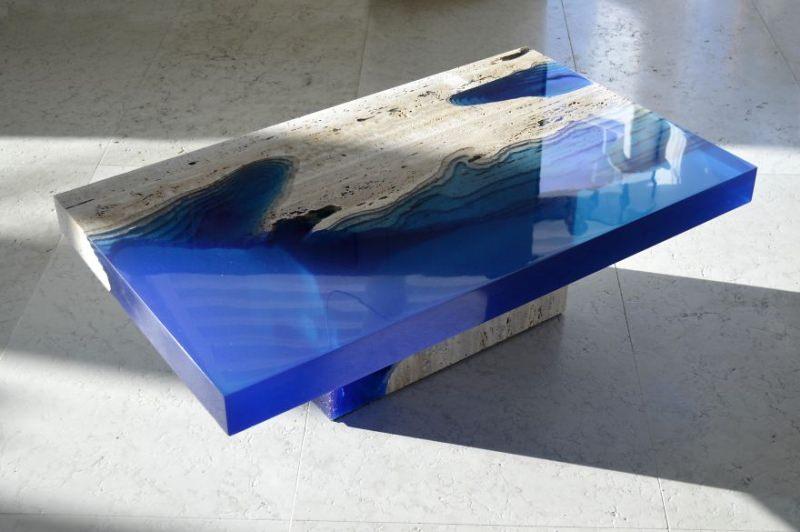 Lagoon coffee table