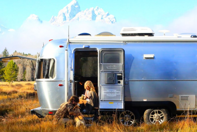 Limited-edition Airstream Camper in honor of the National Park Service