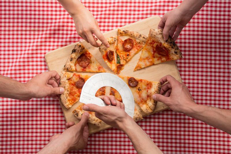 Protractor Pizza Cutter