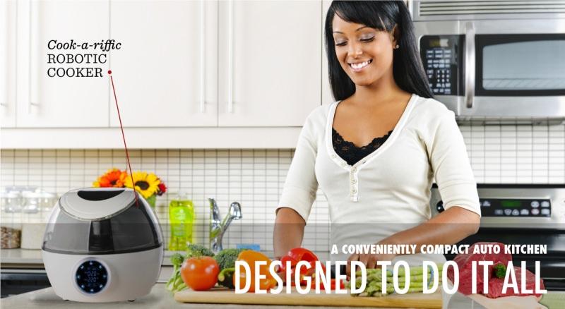 Gourmia Multi Functional Robotic Cooker