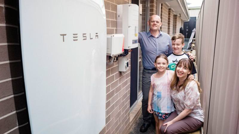 Tesla Powerwall Home Batteries