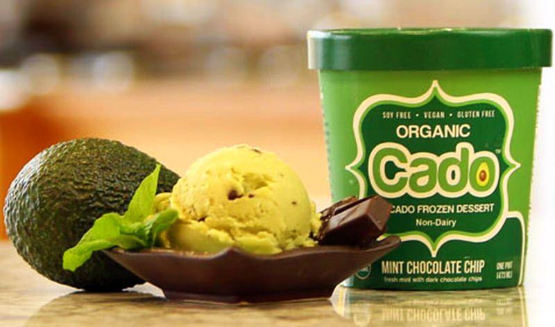 World's first avocado ice cream