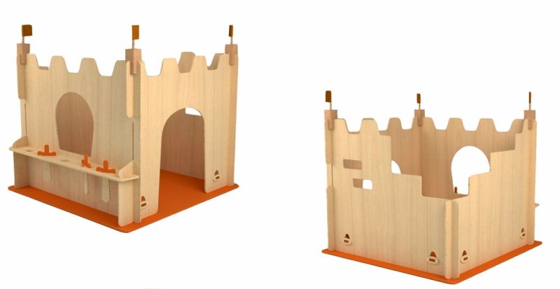 Yonoplay wooden structures provide imaginative playtime for kids