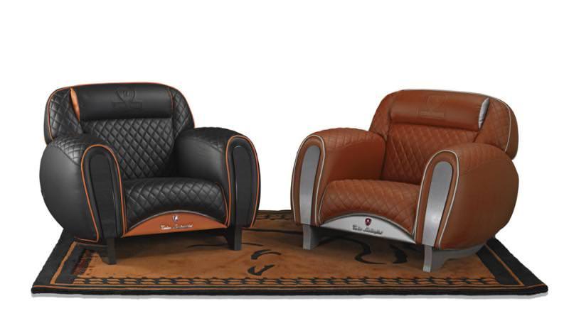 Tonino Lamborghini Casa: Carbon Imola Armchair