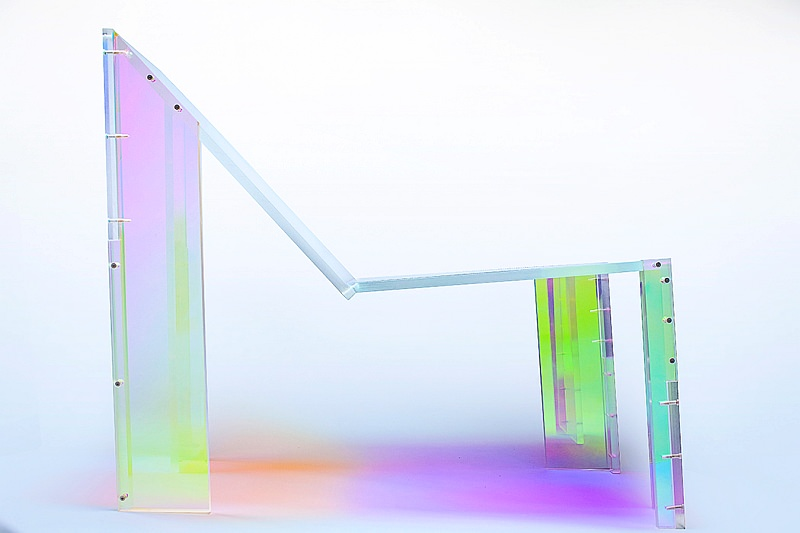 Juliette Mutzke-Felippelli's Acrylic Chair Inspired by French House Music