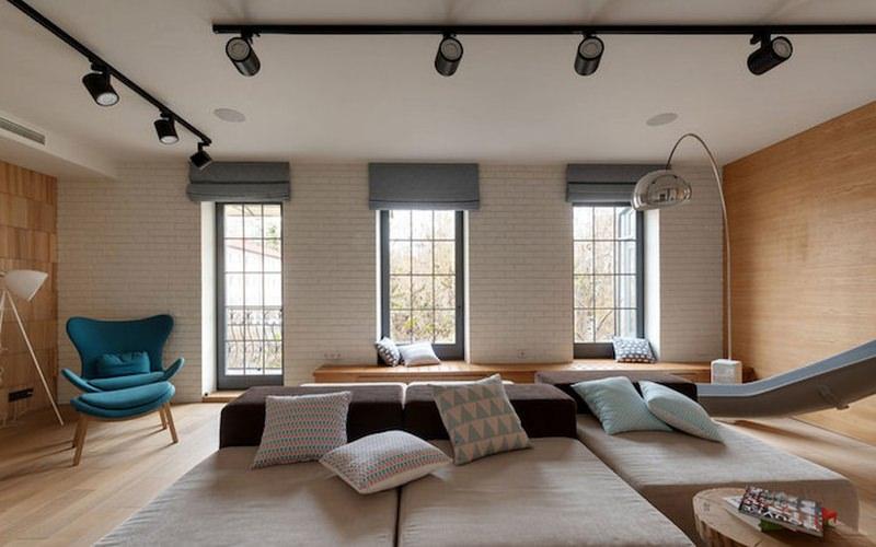 Ki Design Studio Slide in the Modern Apartment