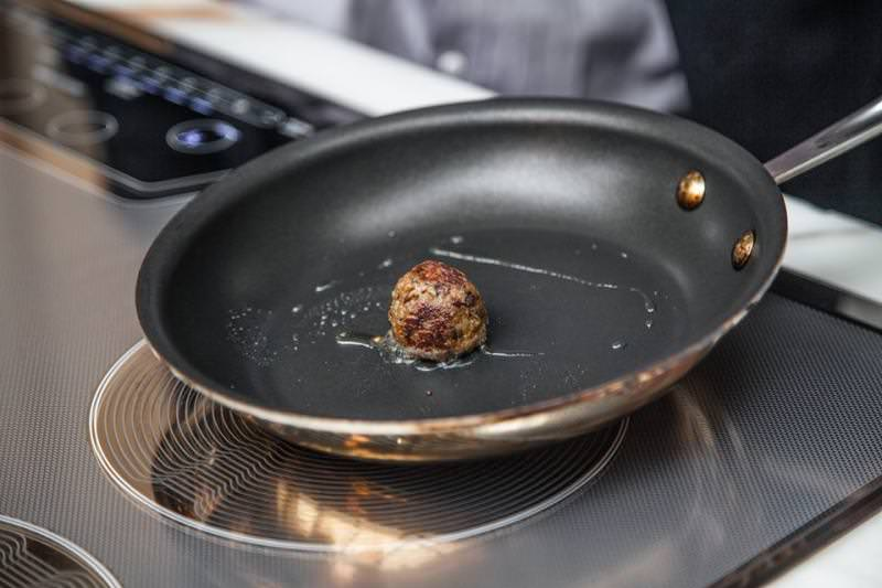 The cultured meat produces 90 percent less greenhouse gas in comparison to conventional meat