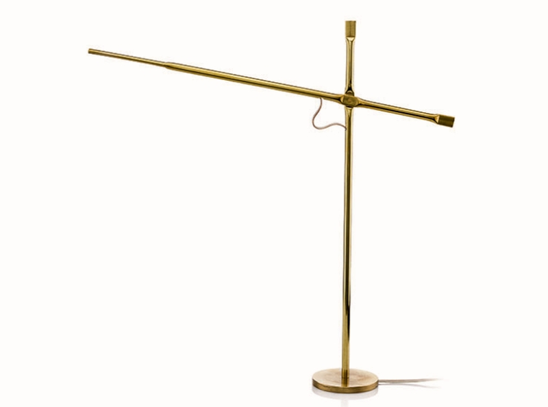 Metal Squashing Lamp