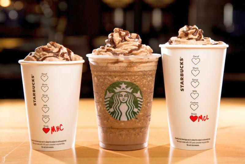 Starbucks Molten Chocolate Trio