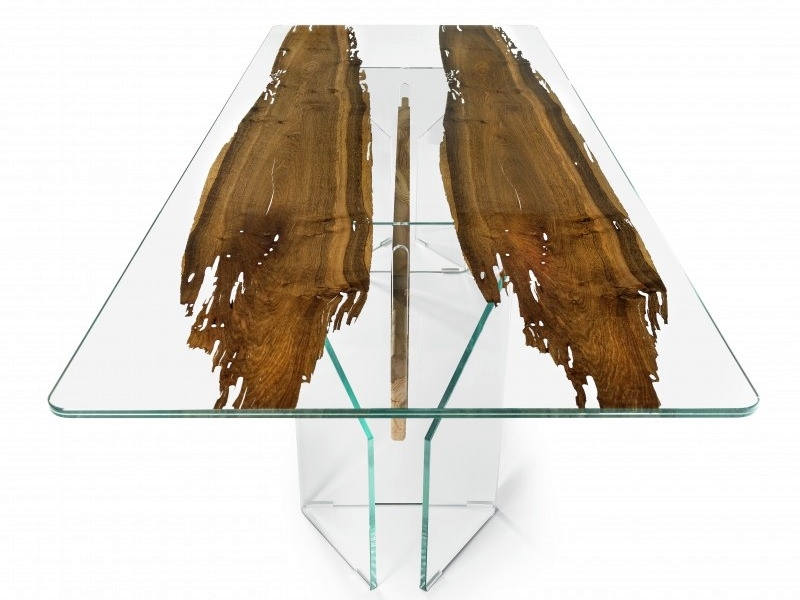 VGnewtrend Glass and Wood Tables
