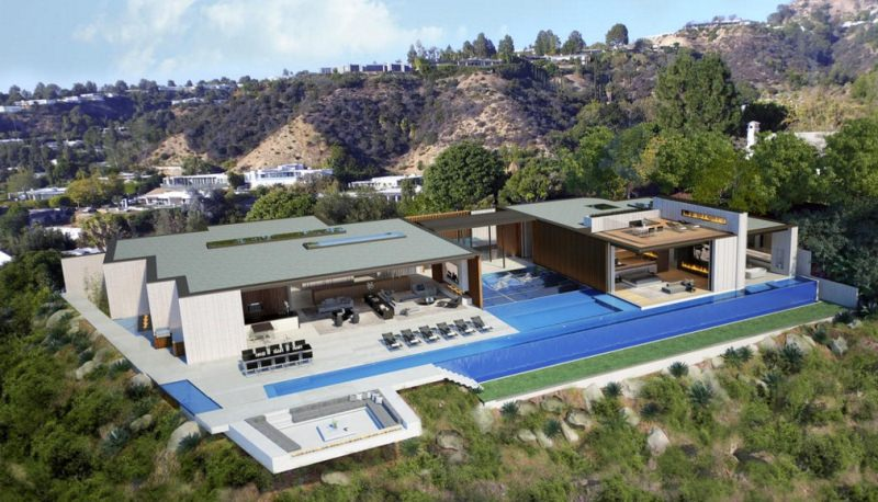 Water-based Beverley Hills House can be yours for whopping $100M